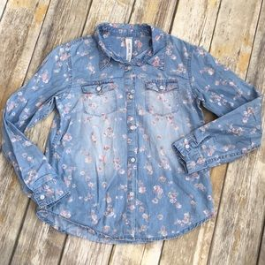 Cherokee Denim Top